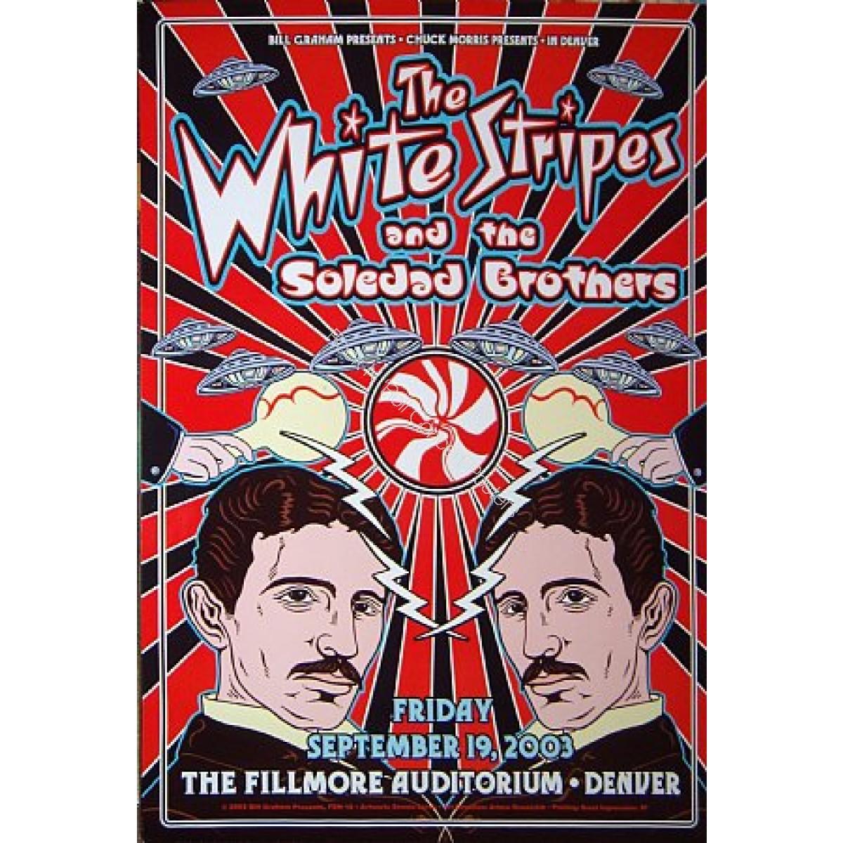 The White Stripes @ The Denver Fillmore 10/11/03