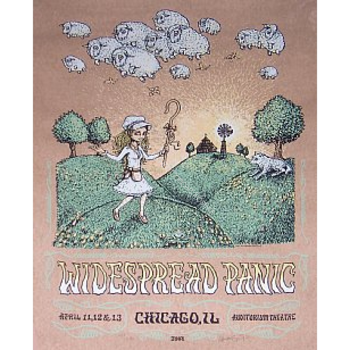 Widespread Panic @ The Chicago Theatre 2008 By Marq Spusta