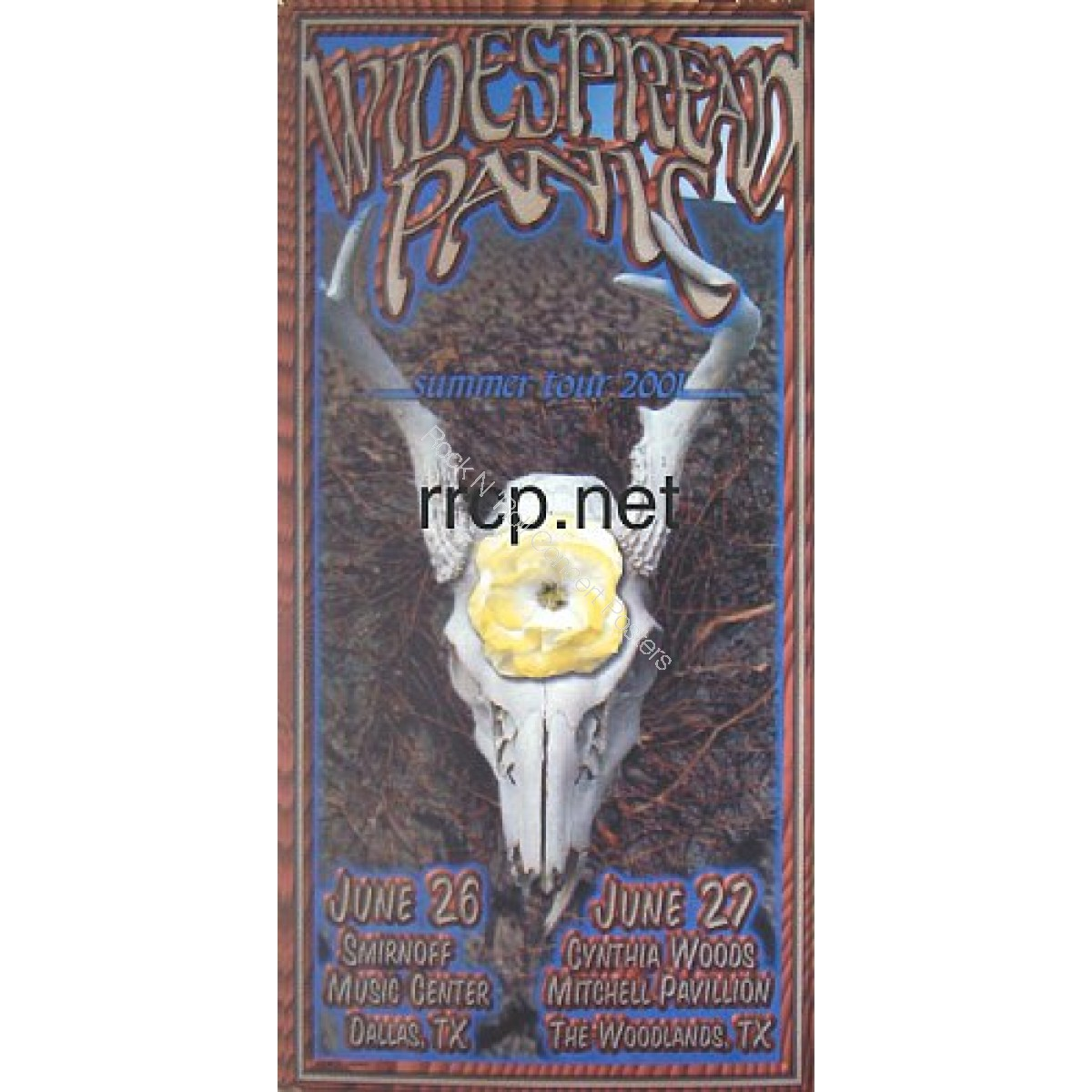 Widespread Panic Dallas, Houston  6/26-27/01