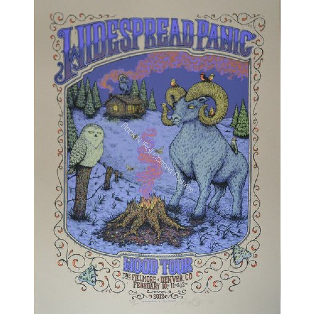 Widespread Panic Denver Fillmore 2012 By Marq Spusta