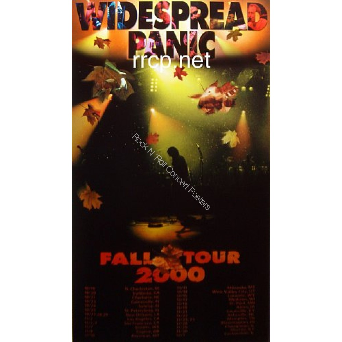 Widespread Panic Fall Tour 2000 Limited edition lithograph
