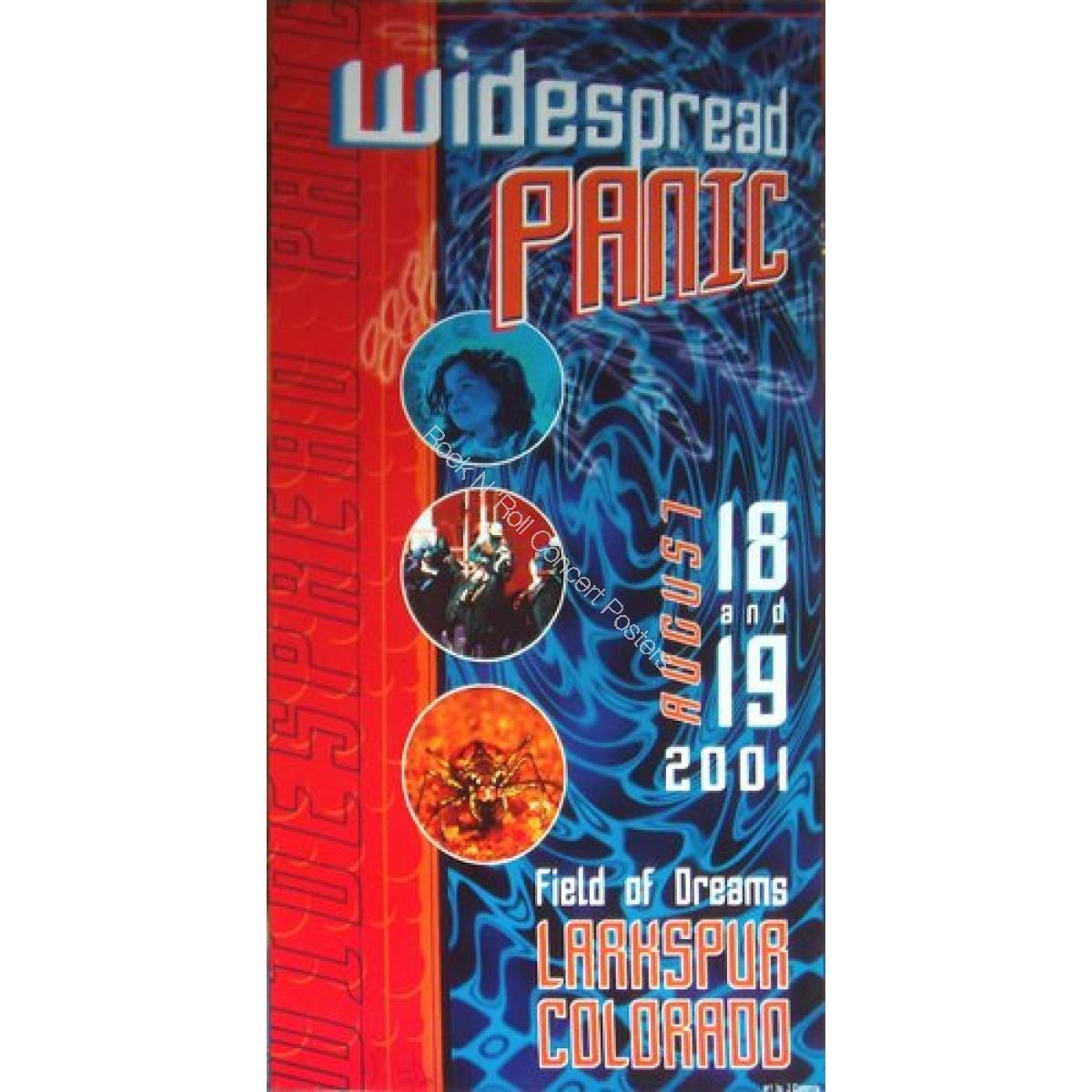Widespread Panic Larkspur Colorado 8/18-19/01