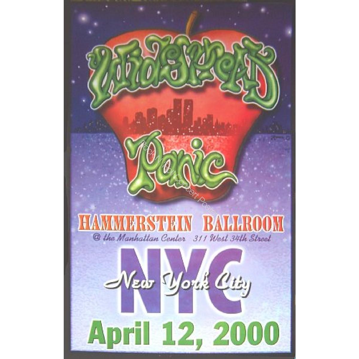 Widespead Panic @ The Hammerstein Ballroom 4/12/00