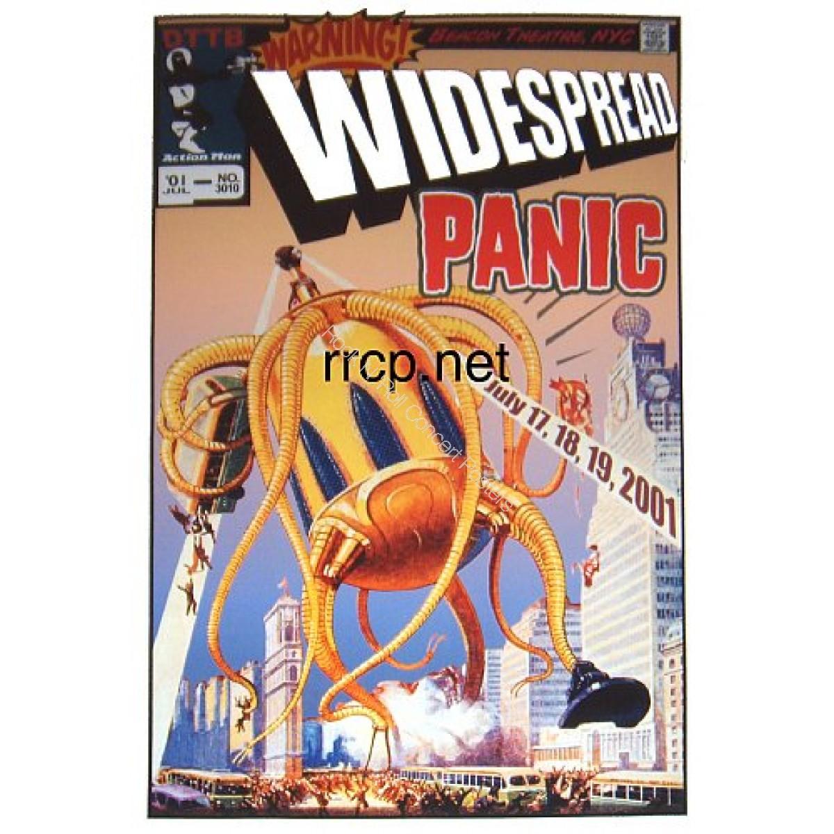 Widespread Panic Beacon Theatre NYC 6/17-19/01