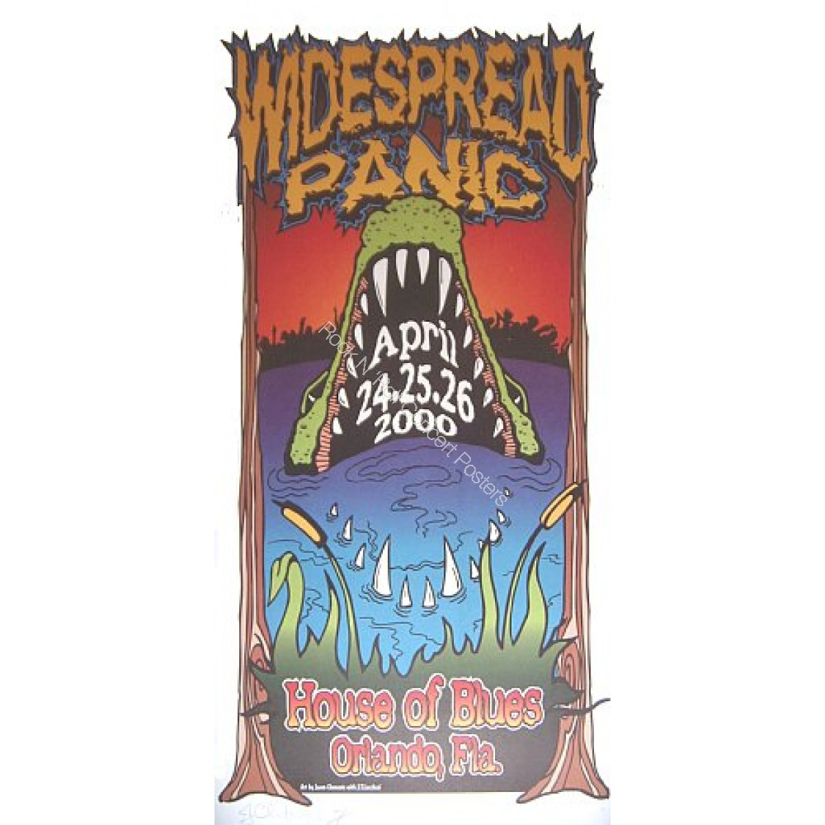 Widespread Panic @ The House of Blues Orlando 4/24-26/00