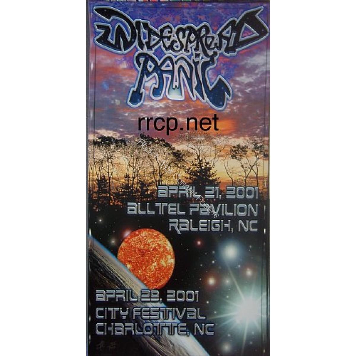 Widespread Panic Raleigh, Charlotte  NC4/21/01