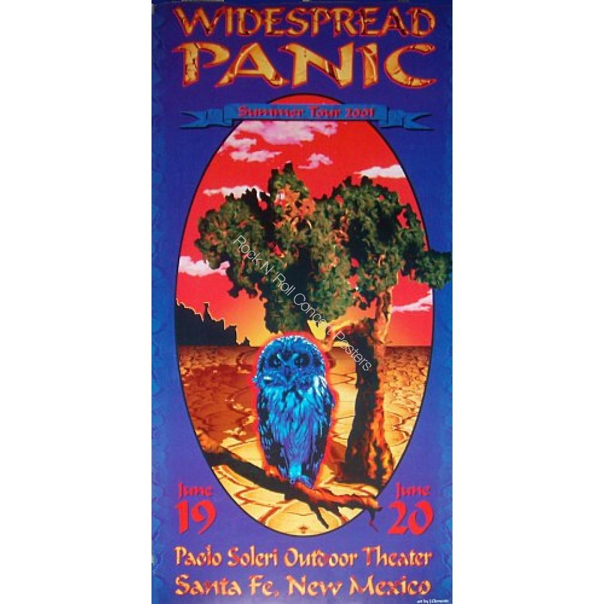 Widespread Panic Santa Fe NM 6/19-20/01