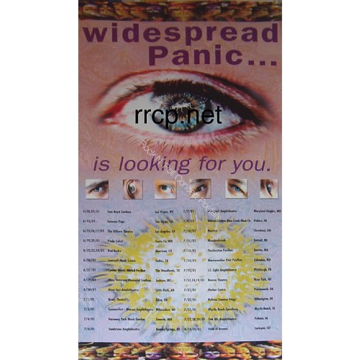 Widespread Panic Summer Tour 2001