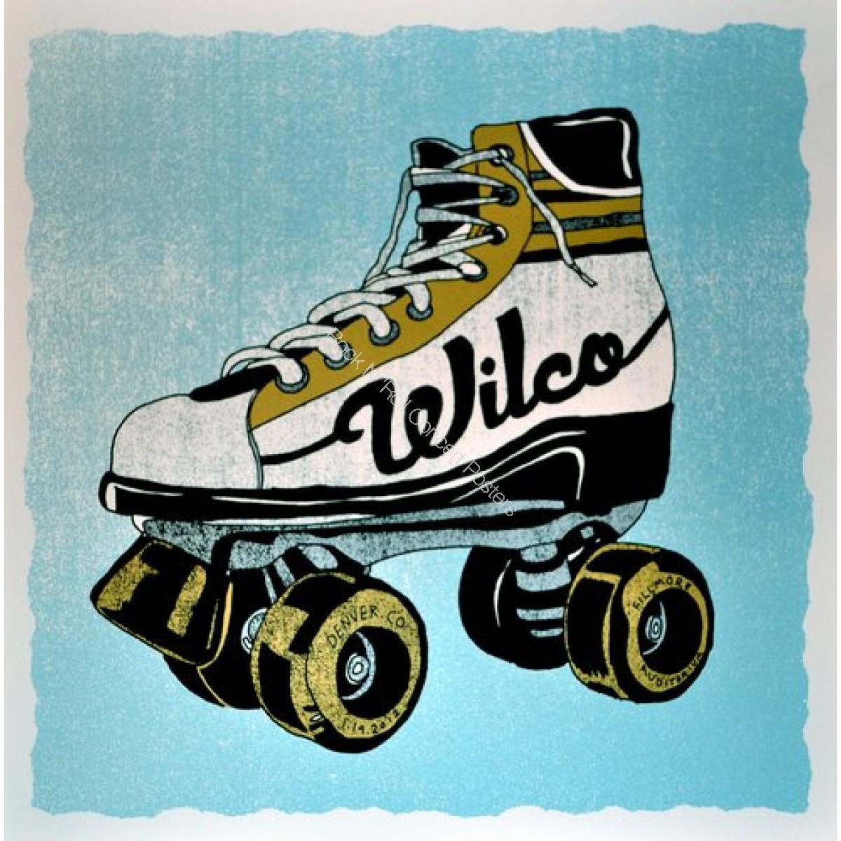 Wilco @ The Denver Fillmore 1/19/11 official screen print LE of 150