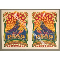 Dead & Company July 2nd & 3rd 2016 Official Poster Uncut Edition Both Nights Posters