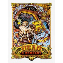 Dead & Company Folsom Field Boulder Colorado June 9th 2017 LE Screen Print Poster By AJ Masthay