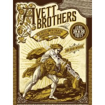 Avett Brothers Red Rocks 2012 official show print