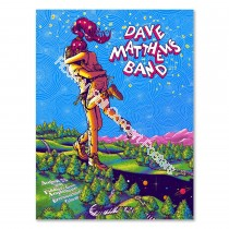 Dave Matthews Band Fiddler's Green Amphitheatre Englewood Colorado 8/23/19 Official Screen Print