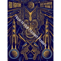 Foo Fighters Fiddler's Green Englewood / Denver Colorado 8/16/15 LE 1st Edition Print of 350