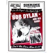 Bob Dylan + Asleep @ The Wheel Billings,MT. 3/25/00