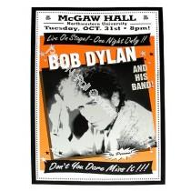 Bob Dylan @ Mcgaw Hall Northwestern U.