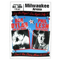 Bob Dylan &  Phil Lesh Milwaukee Arena