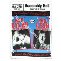 Bob Dylan &  Phil Lesh @ Assembly Hall  U of IL.