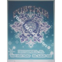 Furthur @ The 1st Bank Center Broomfield Colorado 2/11-13/11 version B sold only the 2nd & 3rd night Rare! DuBois