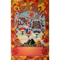 Furthur West Coast Tour 2011 lenticular print