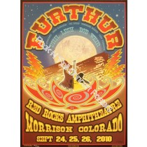 Furthur (Grateful Dead) @ Red Rocks September 24-26th 2010 official screen print