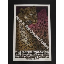 My Morning Jacket & Band Of Horses , Trombone Shorty @ Red Rocks 8/4/12 Limited Edition Print S/N Edition of 330 By Emek