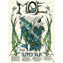 Moe. Summer Tour 2013 Poster S/N Screen Print Edition of 310