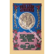 Phil Lesh & Friends Denver & Red Rocks 2005 Official Silk Screen Concert Poster S/N LE of 550