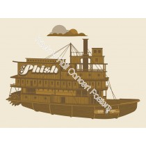 Phish Riverbend Music Center Cincinnati Ohio June 5th 2011 Official L.E. Silkscreen Poster