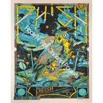 Phish Dick's Sporting Goods Park Commerce City Colorado 2012 Green Variant