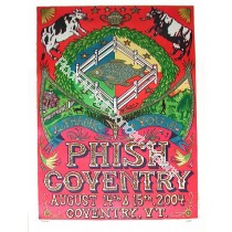 Phish Coventry by Pollock
