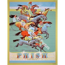 Phish Saratoga July 6-8 2012 Official Show Print By Rich Kelly