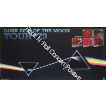 Pink Floyd Dark Side Of the Moon Tour Poster 1973 Official  second printing from 1985