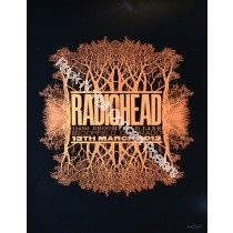 Radiohead March 13th 2012 Broomfield Colorado official print