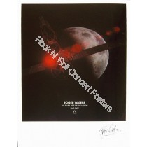 "Roger Waters World Tour 2007 ""Dark Side Of The Moon"" Hand numbered lithograph"