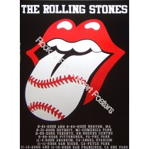 The Rolling Stones Baseball Park Tour Poster 2005