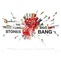 The Rolling Stones North American Fall Tour 2006 Official Poster