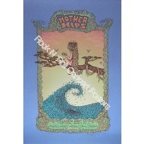 The Mother Hips Pacific Dust Fall Tour 2010 print By Marq Spusta