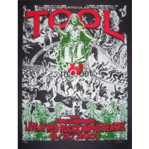 Tool & King Crimson @ Red Rocks 8/3/01 Limited Edition Poster Edition of 275