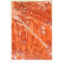 Trey Anastasio @ Red Rocks silk-screen print