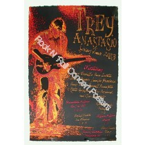 Trey Anastasio Spring Tour 2003 Official Poster S/N edition of 750