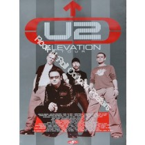 U2 Vertigo North American Tour 2005 Version B Official Print