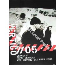 U2 @ The Pepsi Center Denver April 20th & 21st 2005 LE print of 100