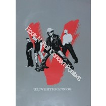 U2 Veritgo Tour 2005 Official Print Version A
