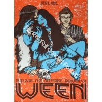 Ween Denver Fillmore 12/31/11 New Years Eve Official Silk Screen Print by Jermaine