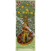 Widespread Panic & The Allman Brothers Charlotte '09 Limited Edition Screen Print