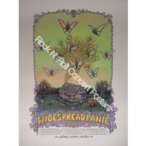 Widespread Panic Fall Tour 2010 Official Tour Poster by Marq Spusta