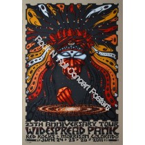 Widespread Panic @ Red Rocks Amphitheatre 2011 Official Concert Poster