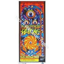 Widespread Panic Spring Tour 2002 Black Light Poster S/N limited edition