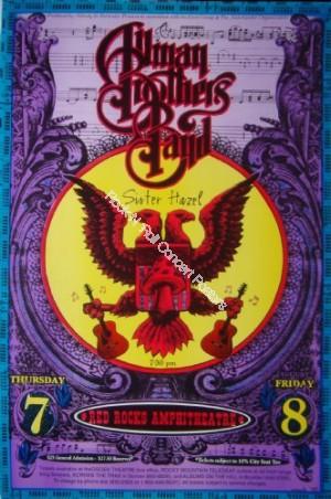 Allman Brothers Red Rocks 8/7-8/97 by Emek